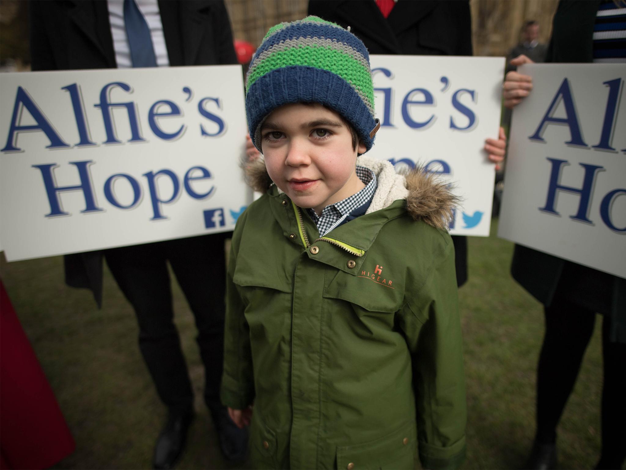 Brexit threatens Alfie