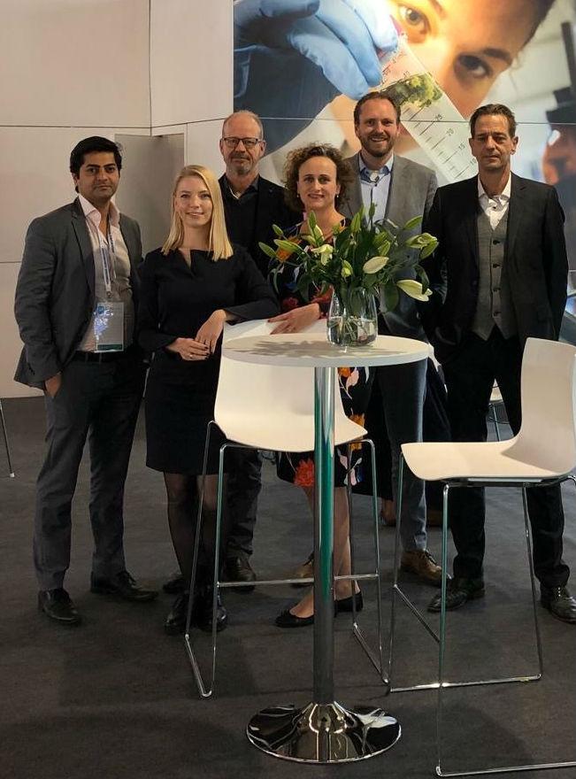 Bedrocan team at CPhI Worldwide