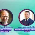 Tjalling Erkelens and MEP Alex Agius Saliba @Prohibition Partners Live